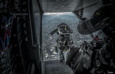 mental avant un saut en terrain hostile